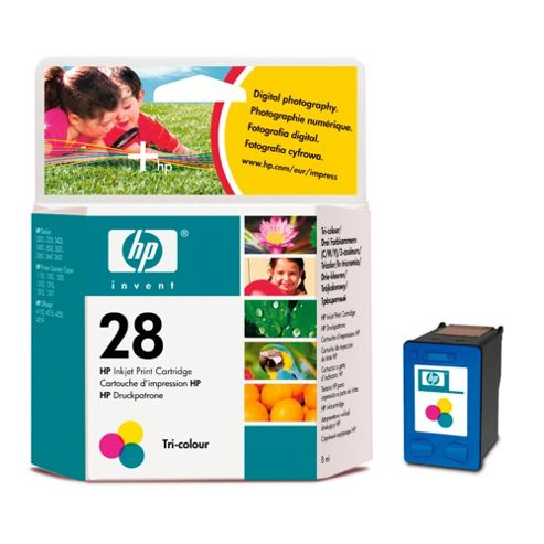 HP 28 printer Ink Cartridge - Tricolour