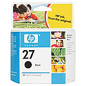 HP 27 Printer Ink Cartridge - Black (C8727AE)