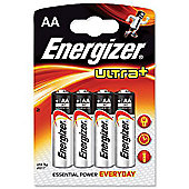 Energizer ultra 4 pack AA batteries