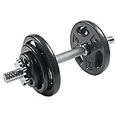 One Body 17kg Cast Iron Dumbbell Set