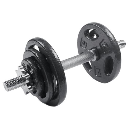 Cast Iron Dumbbell Set, 17kg