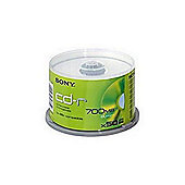 Sony CD-R InkPrint 700MB 48X 50 Pack