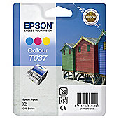 Epson T037 printer ink artridge - Colour