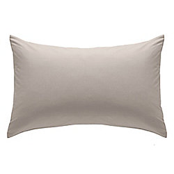 Catherine Lansfield Natural Fitted Sheet - Single