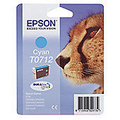 Epson T0712 Printer Ink Cartridge - Cyan