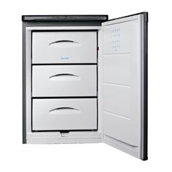 Indesit TZA1S Under Counter Freezer, Freezer Capacity: 78 Litres, Energy Rating A, Width 54.5cm. White