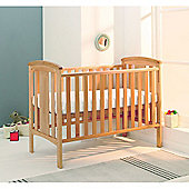 East Coast Katie Drop Side Cot, Beech