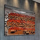 Parvez Taj Upaba Wall Art - 61 cm H x 91 cm W x 5 cm D