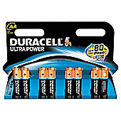 Duracell Ultra Power 8 Pack AA Batteries