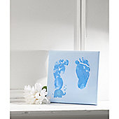 Mothercare Blue Canvas Impression Print Kit
