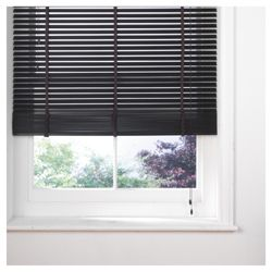 Wood Venetian Blind, 35Mm Slats, Mocha 60Cm
