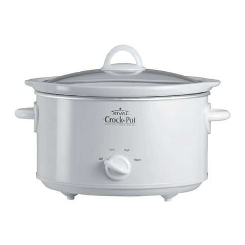 Crock-Pot 3.5L White Slow Cooker
