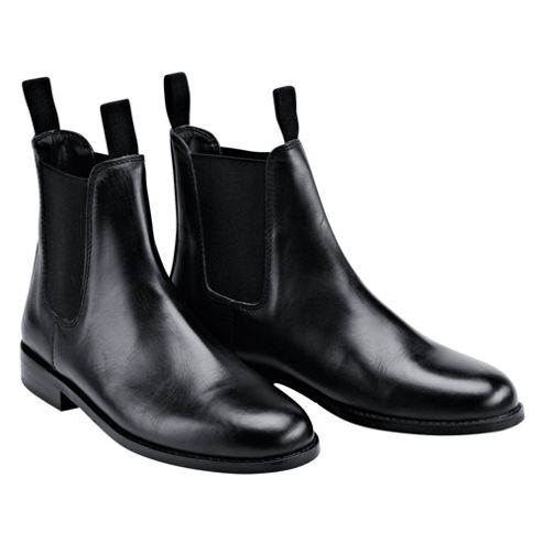 Tesco Black Jodhpur Boots Size 36/3