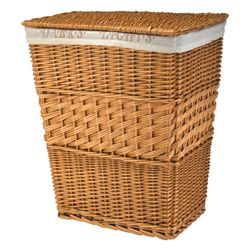 Lights and darks laundry basket