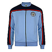 Manchester City 1982 Track Jacket - Sky blue