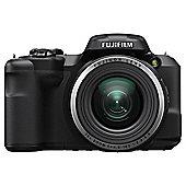 Fuji S8600 Digital Bridge Camera, 16MP, 36x Optical Zoom, Black