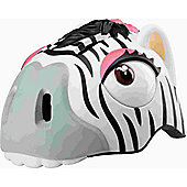 Crazy Stuff Childrens Helmet: Zebra S/M.