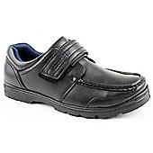 Us Brass Mens Dogey Strap Black Casual Shoes - Black
