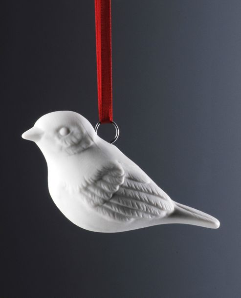 Weimar Bird Christmas Tree Decoration (Set of 2)