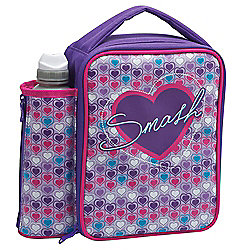 buy smash neon hearts lunch bag and bottle purple from. Black Bedroom Furniture Sets. Home Design Ideas