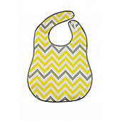 B. Box Essential Travel Bib, Includes Flexible Spoon *MELLOW YELLOW*