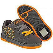 Heelys Propel Boys/Girls Roller Skating Shoe Trainer Choose Colour JNR 12 - UK7 - Grey