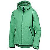 Didriksons Ladies Meduna Waterproof Coat - Green