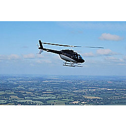 VIP London Skyline Helicopter Tour with Bubbly for Two