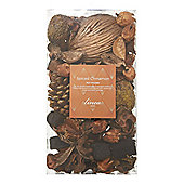 Linea Spiced Cinnamon Pot Pourri In Brown