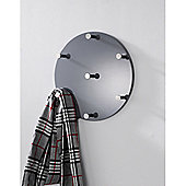 Urbane Designs Wall Coat Rack - High Gloss Grey