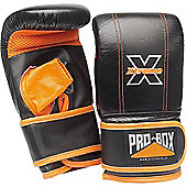 Pro Box Xtreme Pre Shaped Punch Bag Mitts - Black