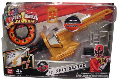 Power Rangers Super Samurai Spin Sword With Sound