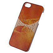Tortoise™ Hard Protective Case, iPhone 5/5S, Orange, Lifes Peachy