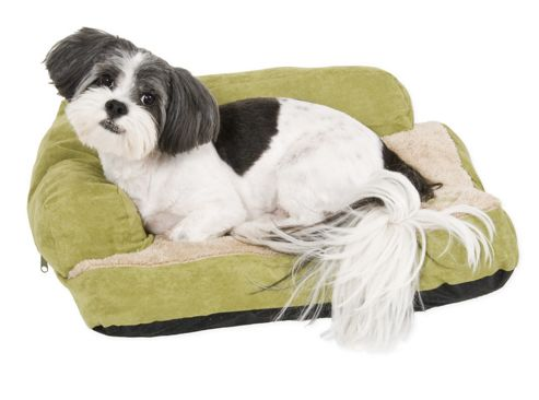 Petmate Chaise Bolster Dog Bed in Assorted