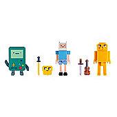 """Adventure Time Collector's Pixel Figure Pack - Finn, Jake & BMO"""