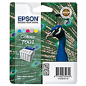 Epson T001 printer ink cartridge - Colour