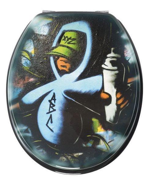 Wenko Graffiti Toilet Seat