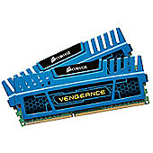 Corsair Vengeance 8GB (2 x 4GB) Memory Kit PC3-17066 2133MHz DDR3 DIMM (Blue)