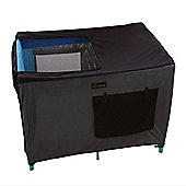 SnoozeShade Travel Cot Black out Blind
