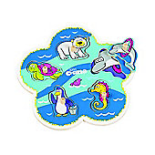 Tidlo Flower Shape Sealife Kids Puzzle (5 Pieces)