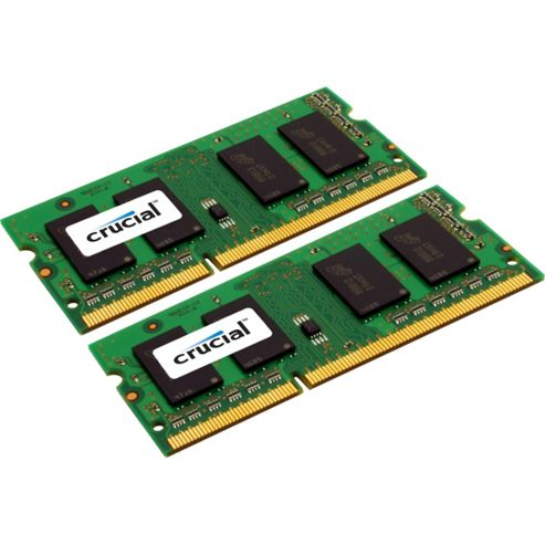 Crucial 16GB Memory Kit (2x8GB) PC3-10600 1333MHz DDR3 Unbuffered for Apple MAC