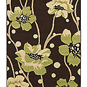 Oriental Carpets & Rugs Verona 216 Brown/Green Rug - 160cm x 220cm