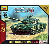 Zvezda 1/100 Soviet Main Battle Tank T-72B #