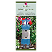 Dobbies Solar Lighthouse Lamp