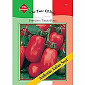 Tomato 'Roma Nano' - Vita Sementi® Italian Seeds - 1 packet (450 tomato seeds)