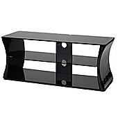 ValuFurniture Sirocco 1100mm Black TV Stand for up to 52 inch