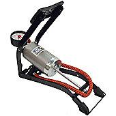 De-Luxe Quality Single Cylinder Foot Pump-270 Gauge