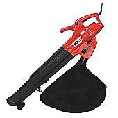 Callow Outdoor Garden Leaf Blower & Vacuum - Powerful 3000 Watt with Variable Speed