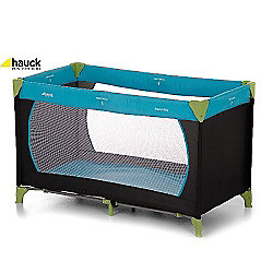 Hauck Dream N Play Travel Cot Water Blue