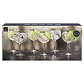 Gin & Tonic Glasses, 8 Pack